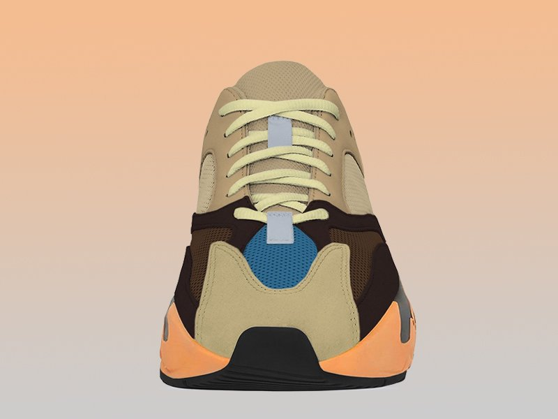 adidas Yeezy BOOST 700 Enflame Amber Toe