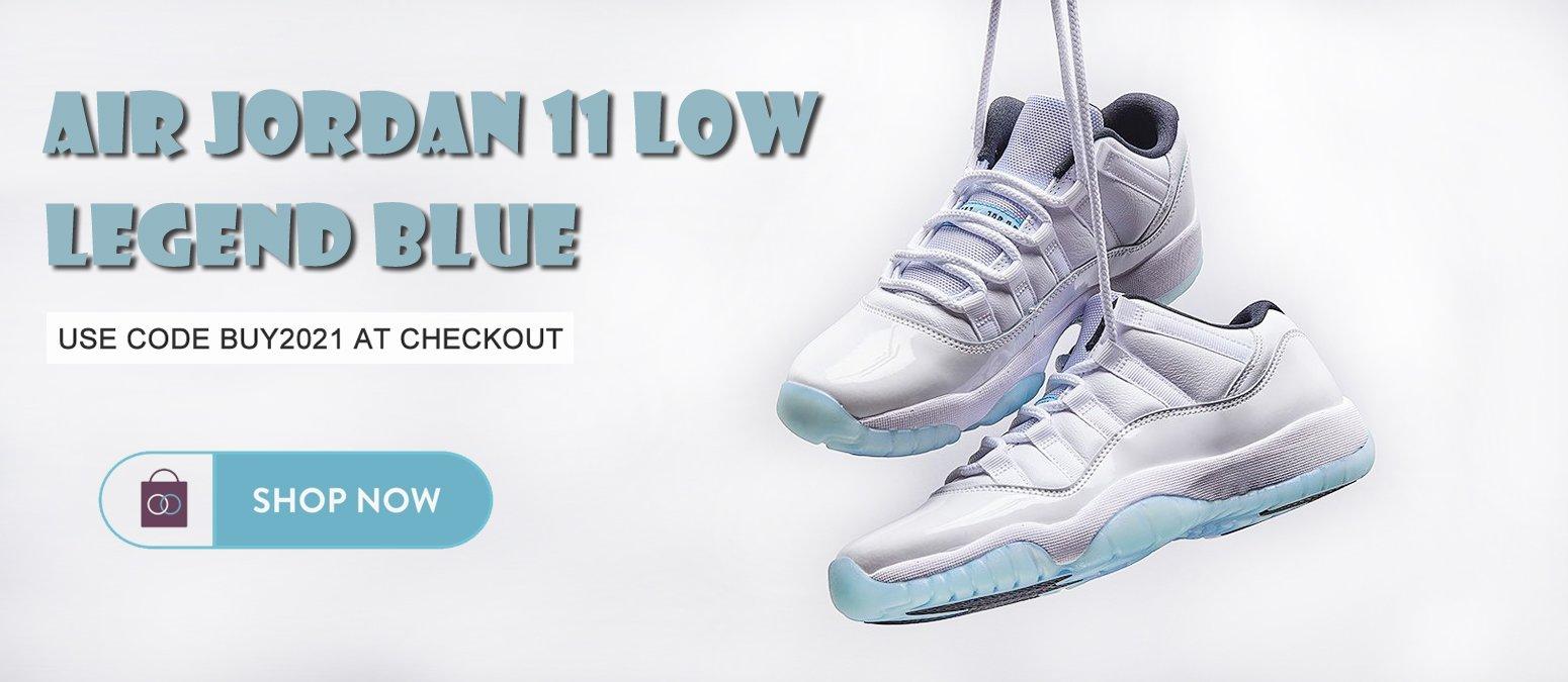 Air Jordan 11 Low Legend Blue