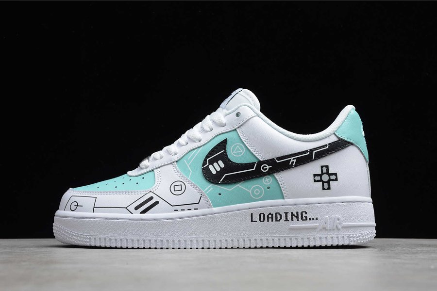 Buy Online Nike Air Force 1 Low PS5 White Teal