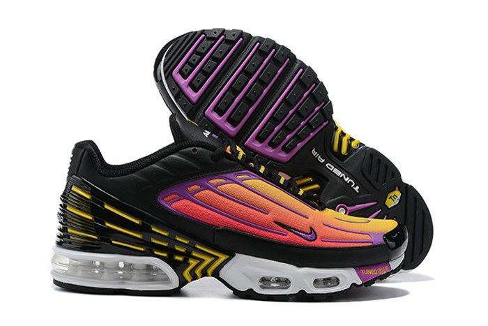 CJ9684-003 Nike Air Max Plus 3 Black Dynamic Yellow-Hyper Violet