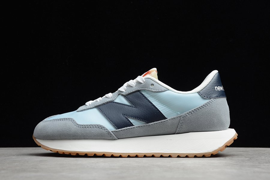 New Balance 327 Reflection With Eclipse Grey Light Blue Navy