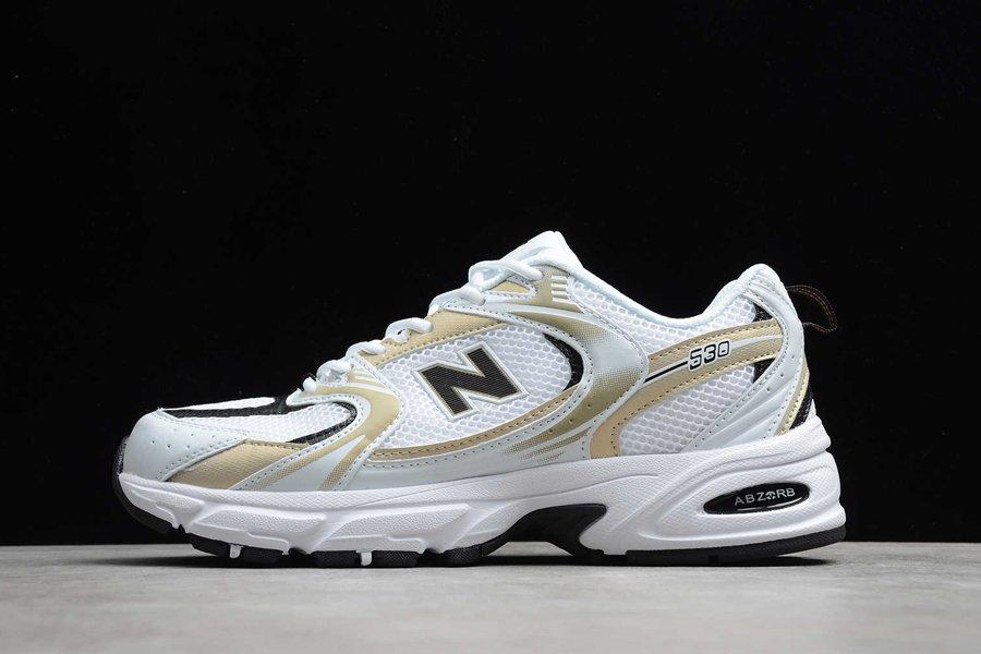 New Balance MR530UNI White Light Gold Metallic On Sale