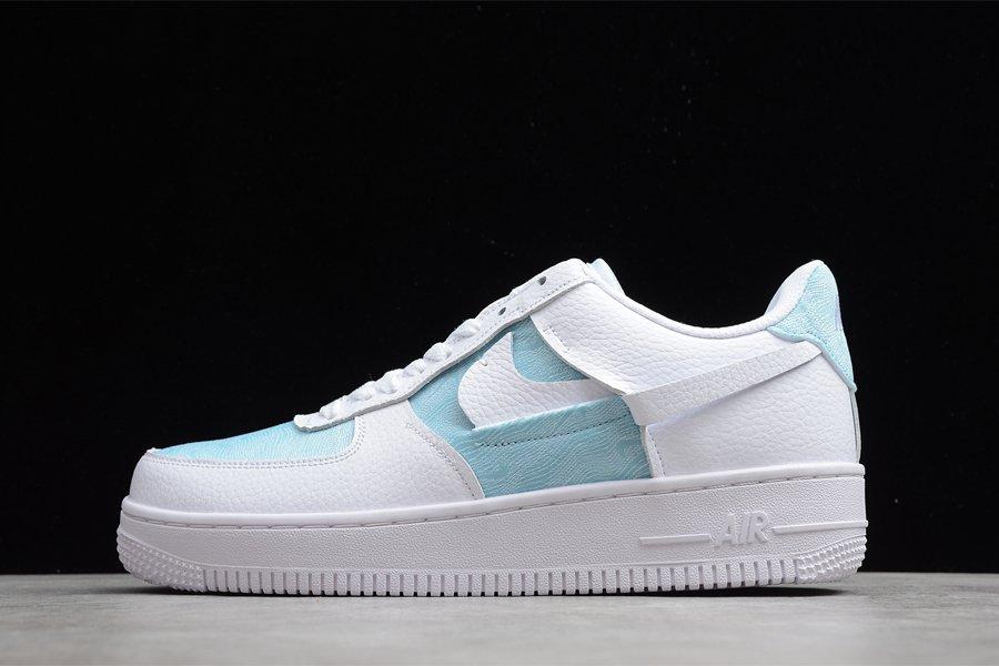 Nike Air Force 1 LXX Glacier Blue White-Black DJ9880-400 On Sale