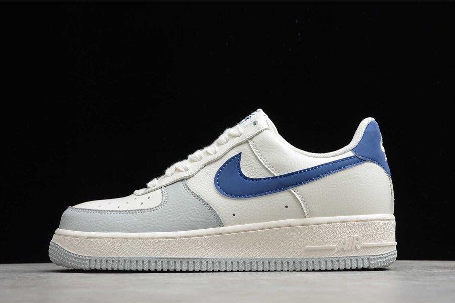 Nike Air Force 1 Low Beige Grey Blue Online Kopen