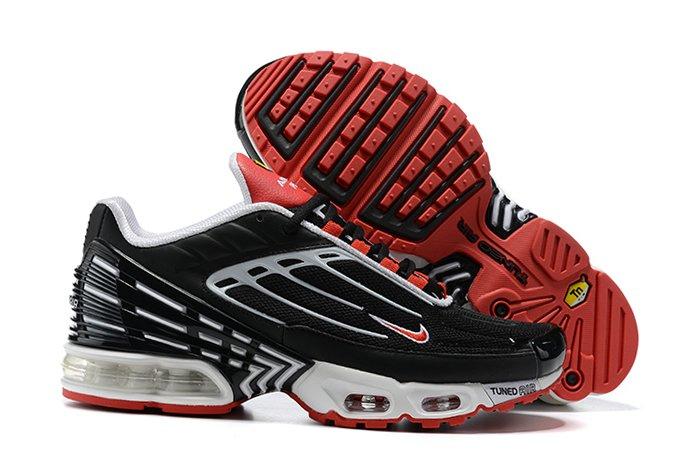 Nike Air Max Plus 3 Black White-Track Red CJ0601-001 To Buy