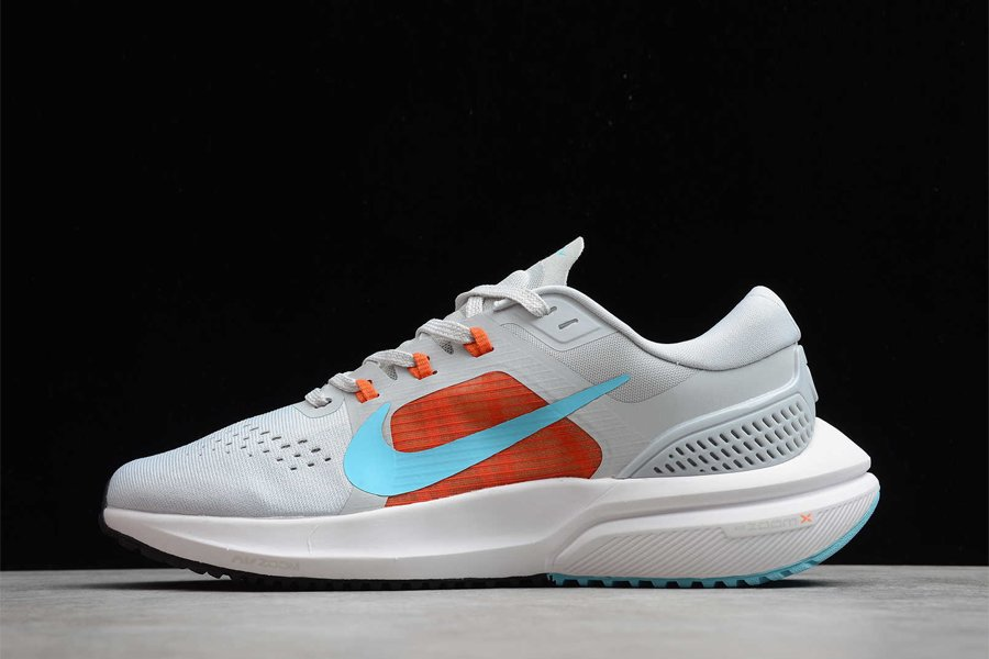 Nike Air Zoom Vomero 15 Grey Blue White Orange Red