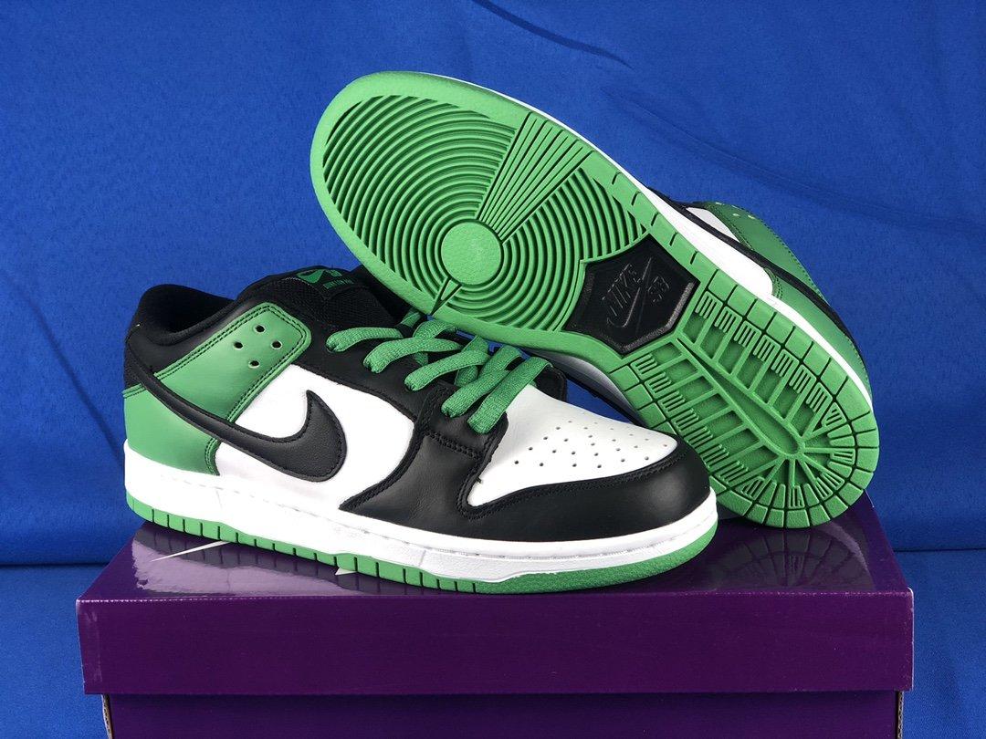 Nike SB Dunk Low Classic Green BQ6817-302 For Sale