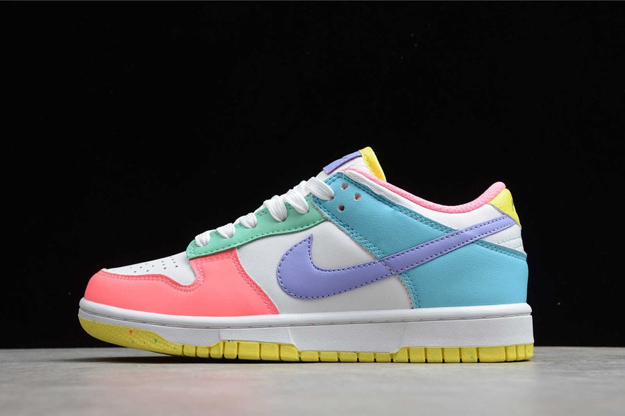 Nike Wmns Dunk Low SE Easter DD1872-100 Pas Cher