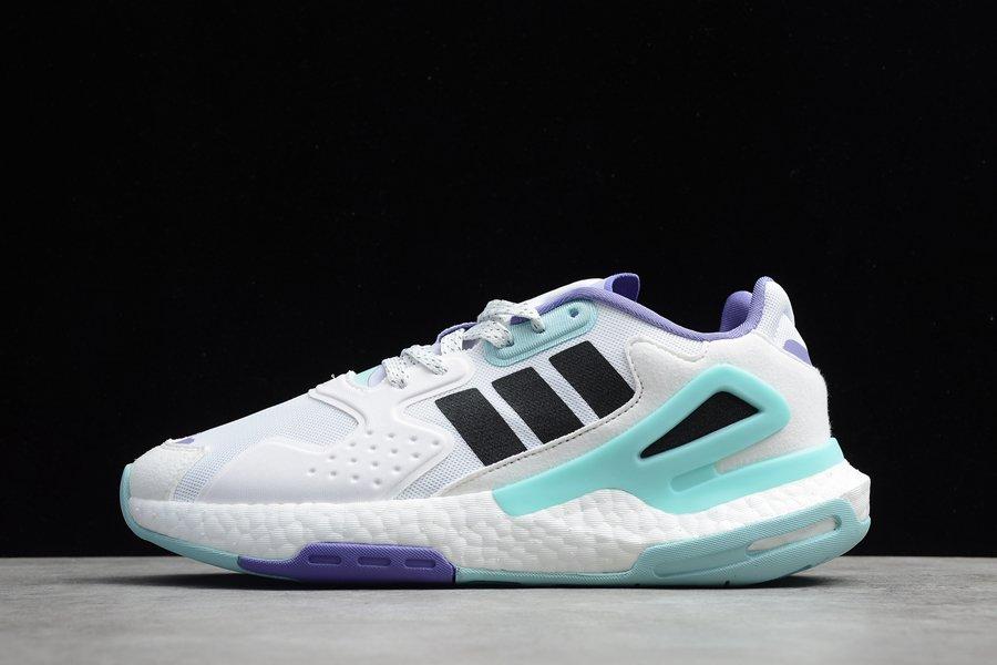 adidas Day Jogger White Hazy Green H03262 Schuhe Kaufen