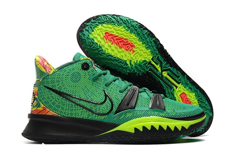 2021 Nike Kyrie 7 Weatherman Stadium Green Volt CQ9327-300 On Sale