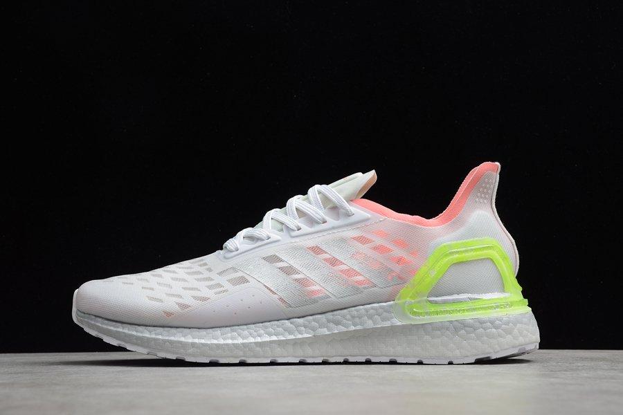 Adidas Ultraboost PB Running Shoes Dash Grey Silver Metallic-Light Flash Red