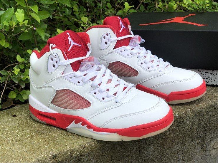 Air Jordan 5 Retro White Pink Foam-Gym Red 440892-106 To Buy