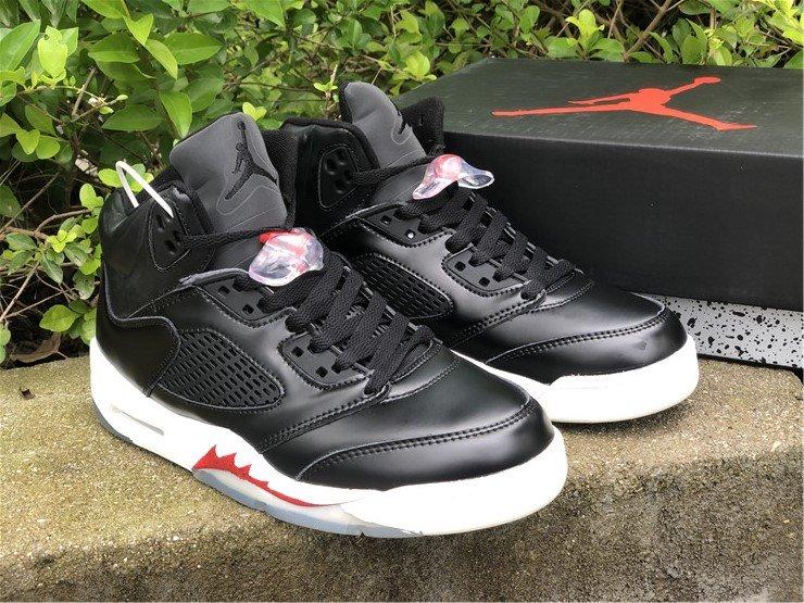 Air Jordan 5 SP Black Muslin Fire Red To Buy