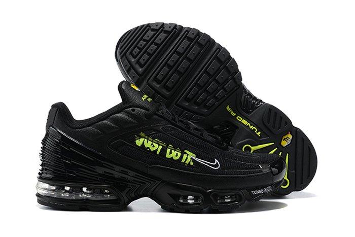 DJ6877-001 Nike TN Air Max Plus 3 Just Do It Black Volt