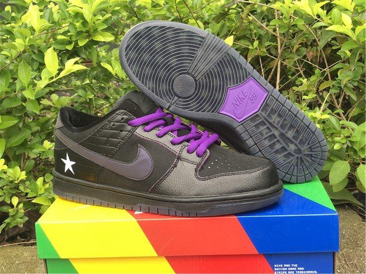 Familia x Nike SB Dunk Low First Avenue Black Voltage Purple-White