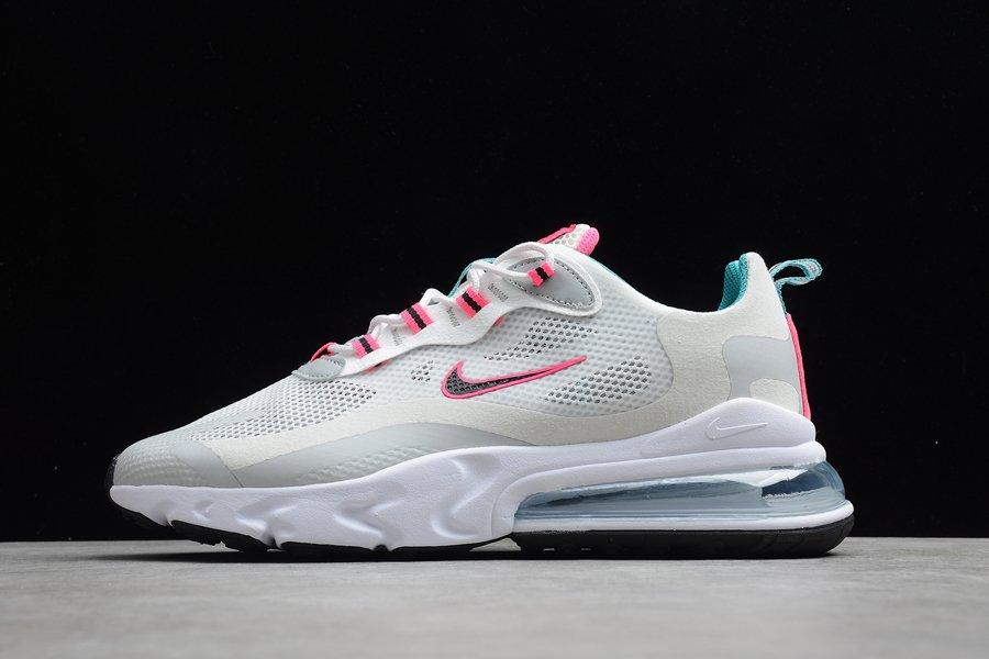 Nike Air Max 270 React South Beach Grey Teal Pink