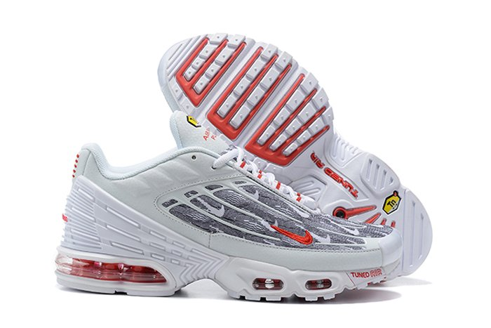 Nike Air Max Plus 3 Topography Pack White Red