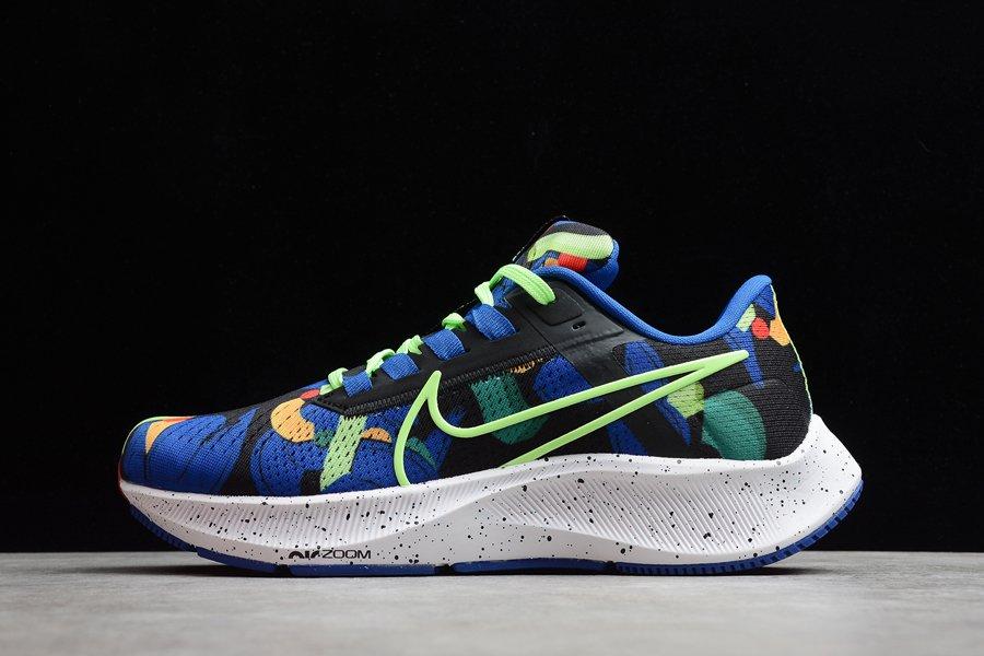 Nike Air Zoom Pegasus 38 A.I.R. Kelly Anna Racer Blue Lime Glow