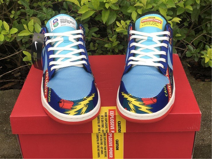 Nike Dunk Low CNY Firecracker DH4966-446 Front