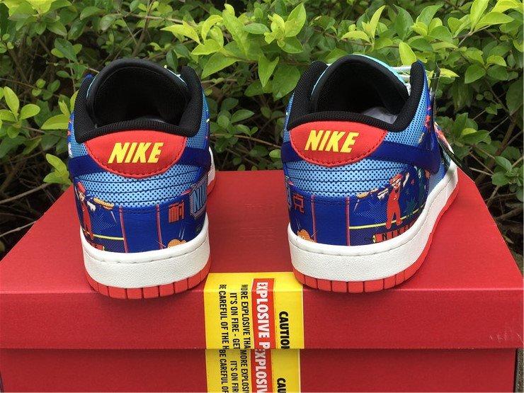Nike Dunk Low CNY Firecracker DH4966-446 Heel