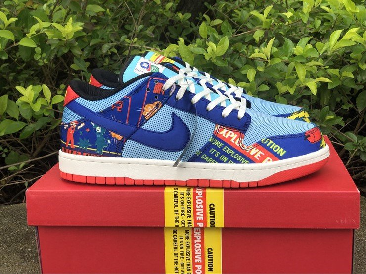 Nike Dunk Low CNY Firecracker DH4966-446 Lateral