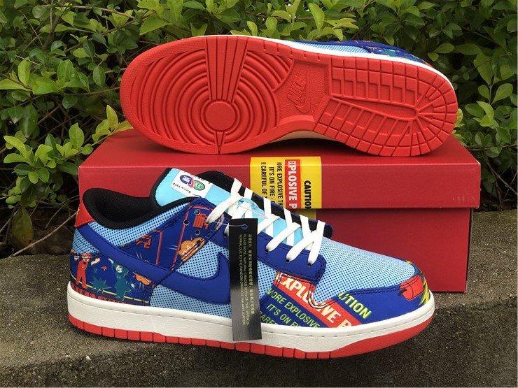 Nike Dunk Low CNY Firecracker DH4966-446 Sole