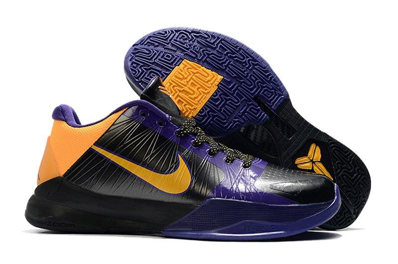 Nike Zoom Kobe 5 Lakers Black Del Sol-Varsity Purple