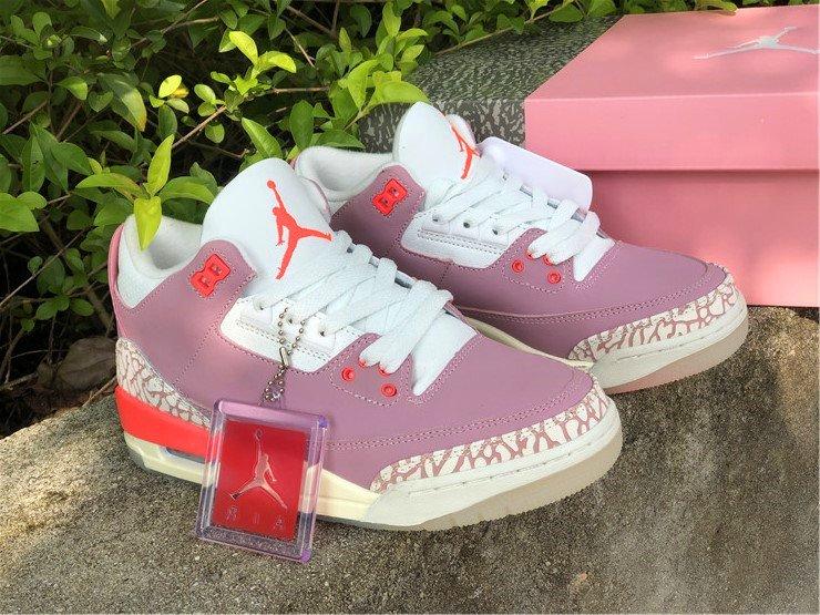 CK9246-600 Womens Air Jordan 3 Rust Pink