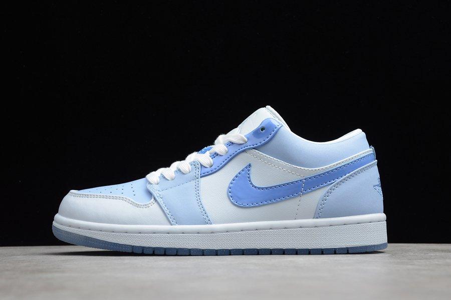 DM5442-040 Air Jordan 1 Low Mighty Swooshers Blue White