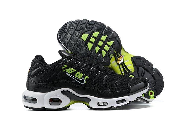 Mens Nike Air Max Plus Just Do It Black Volt