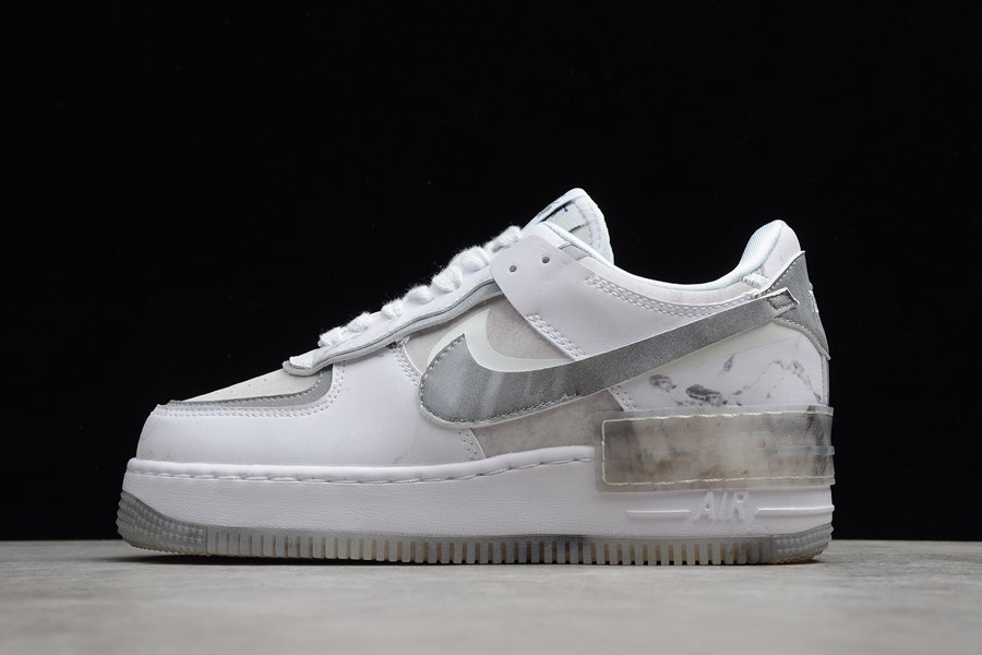 Nike Air Force 1 Shadow Goddess of Victory White Grey DJ4635-100 To Buy
