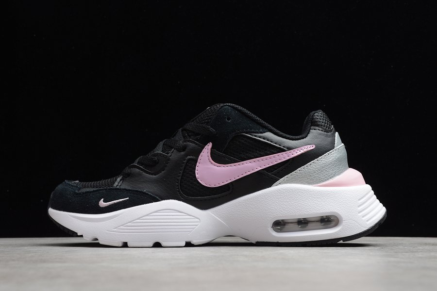 Nike Air Max Fusion Black White Pink Casual Shoes