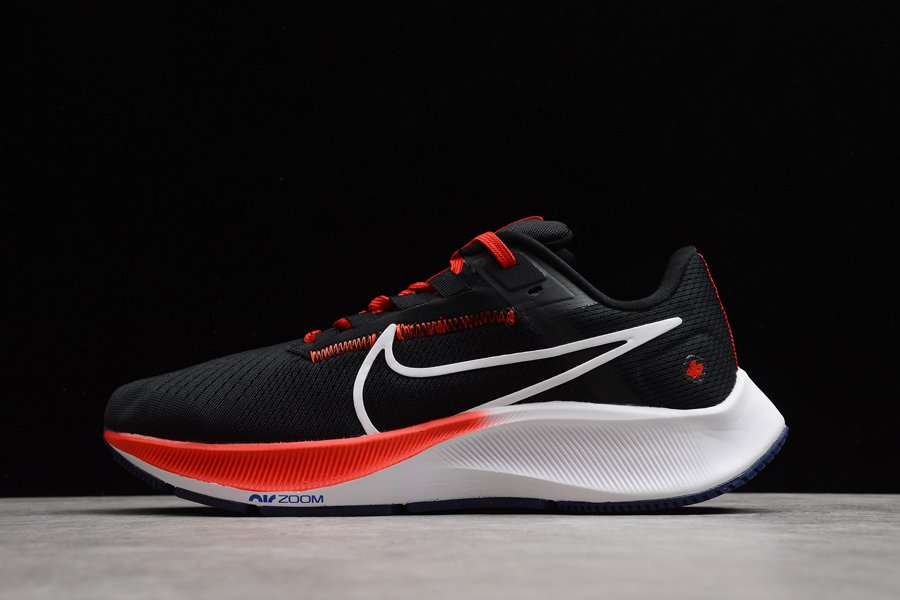 Nike Air Zoom Pegasus 38 Black Red Road-running Shoes