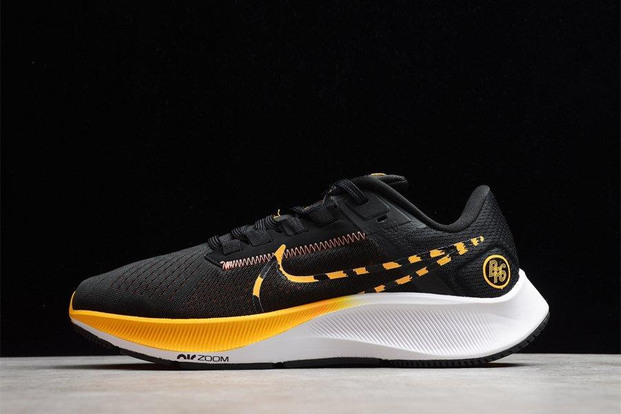 Nike Air Zoom Pegasus 38 Blue Ribbon Sports Black White Yellow To Buy