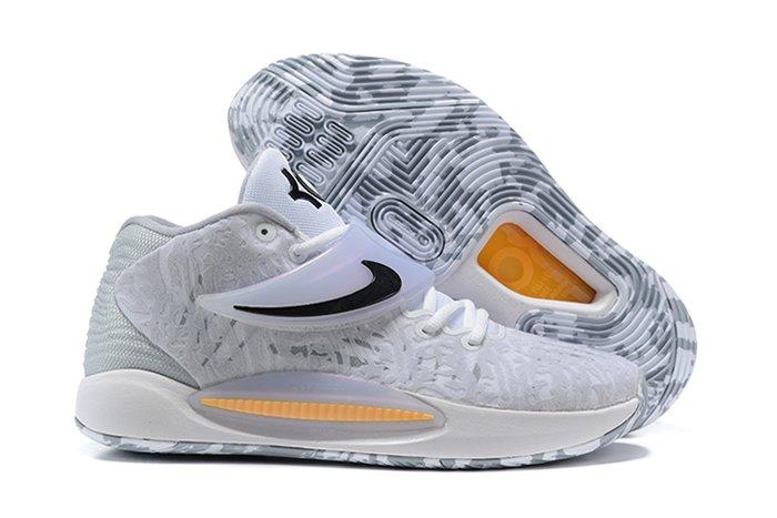 Nike KD 14 Home White Black CW3935-100 On Sale