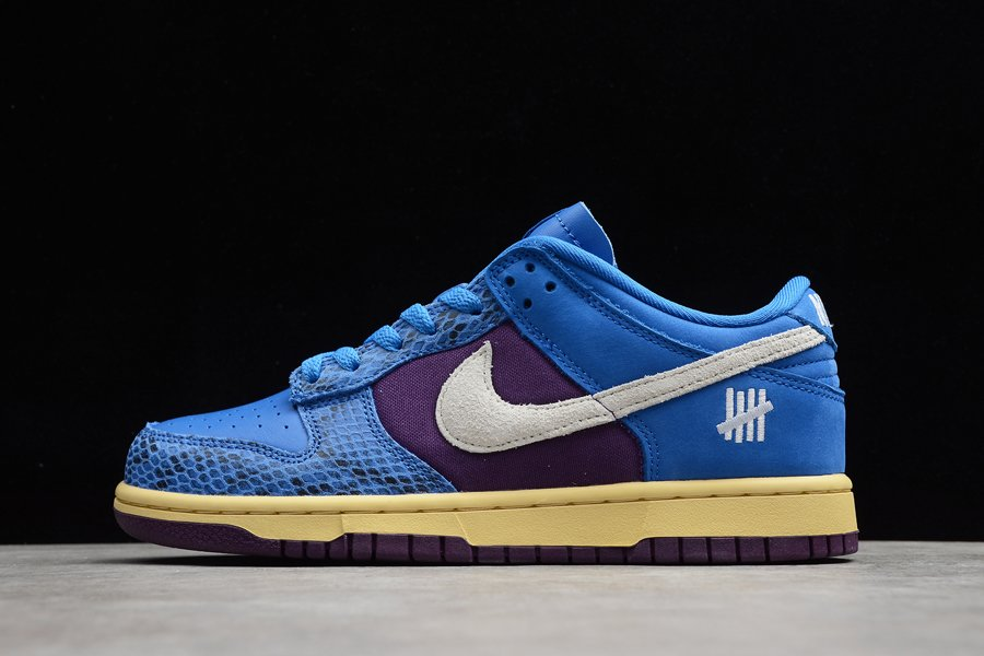 Undefeated x Nike Dunk Low Dunk vs. AF1 Royal Purple