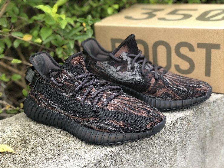 adidas Yeezy Boost 350 V2 MX Rock Black Brown Grey
