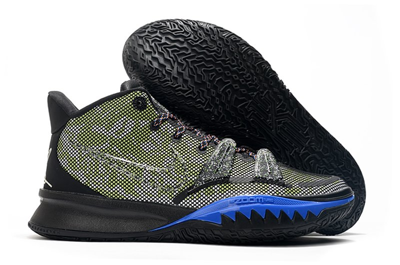 CQ9326-007 Nike Kyrie 7 Grind Black Yellow Blue To Buy