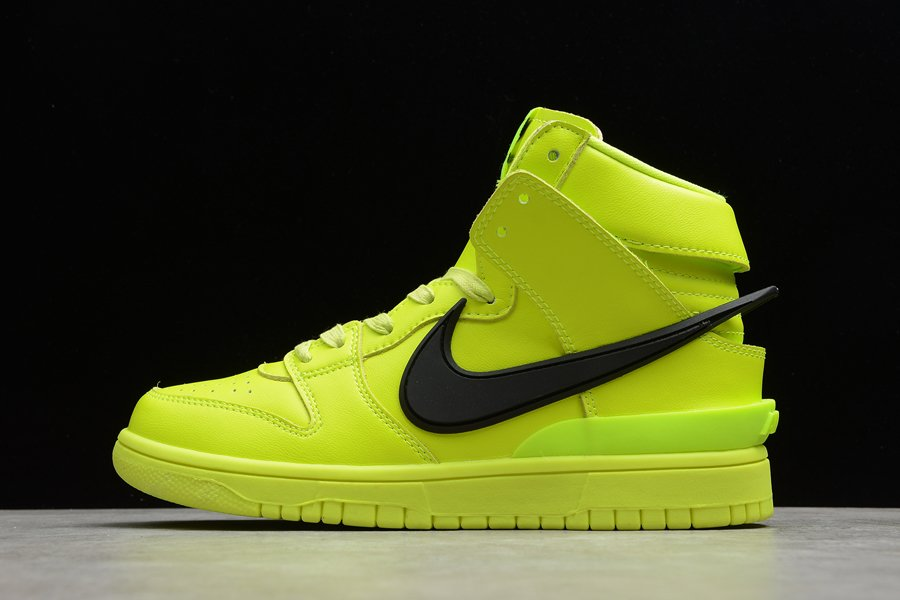 CU7544-300 AMBUSH x Nike Dunk High Flash Lime To Buy