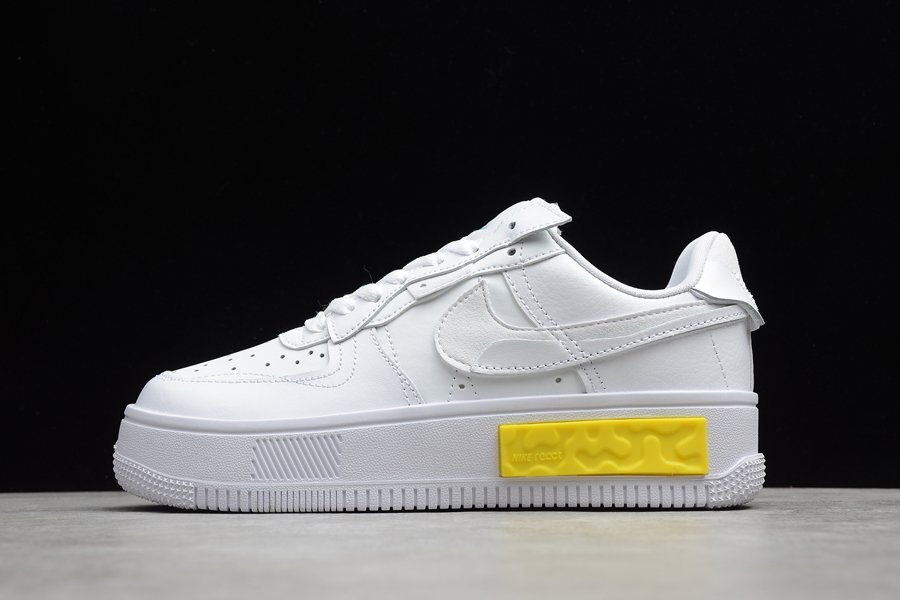 Nike Air Force 1 Fontanka White Yellow DA7024-101 For Sale