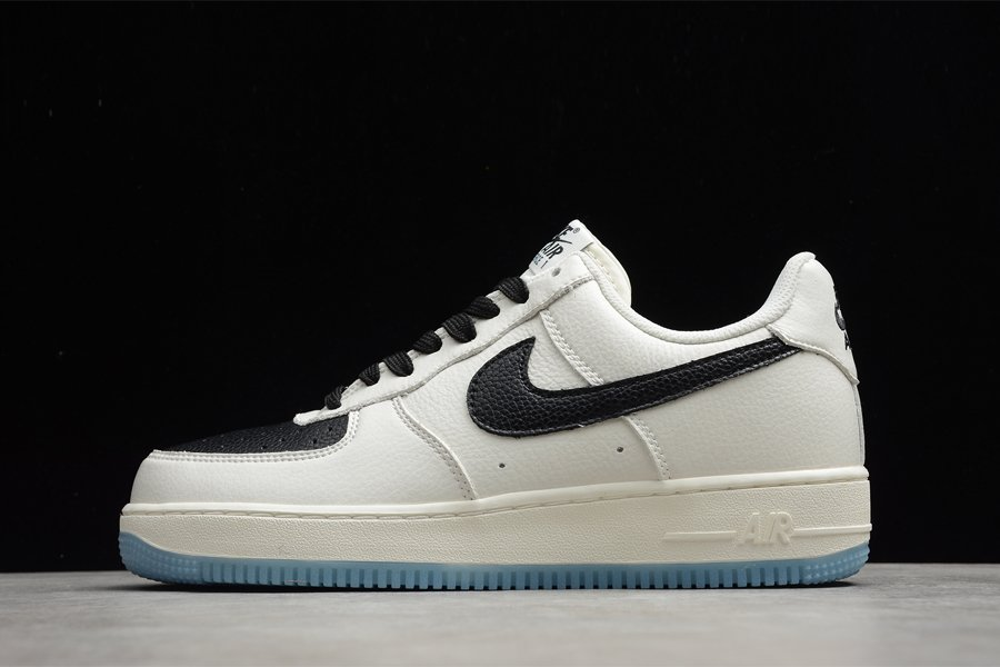 Nike Air Force 1 Low Beige Black On Sale