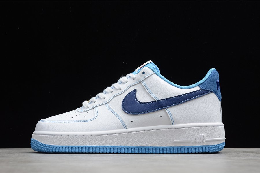 Nike Air Force 1 Low First Use White University Blue-Sail-Deep Royal Blue