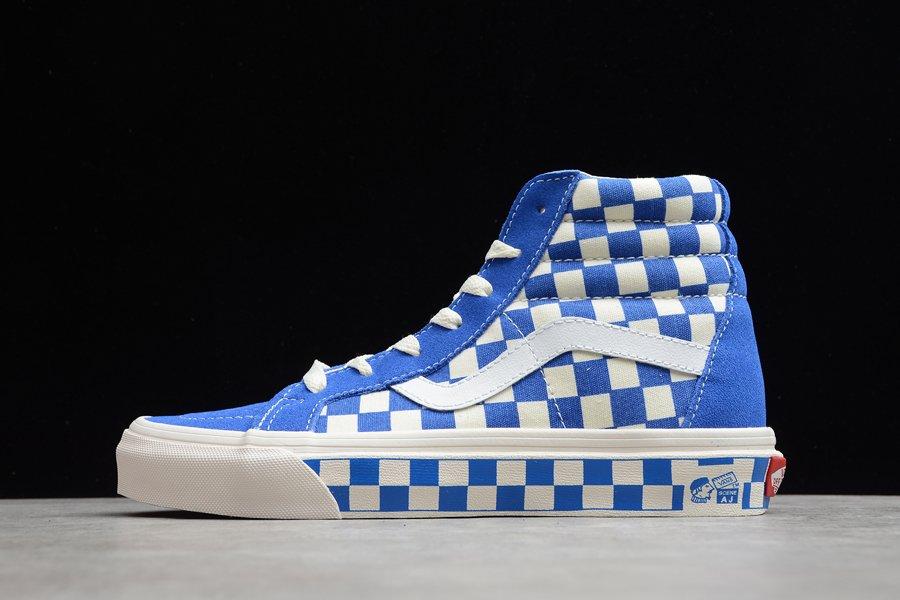 Vans Anaheim Checker Combo SK8-Hi Blue Skate Shoes