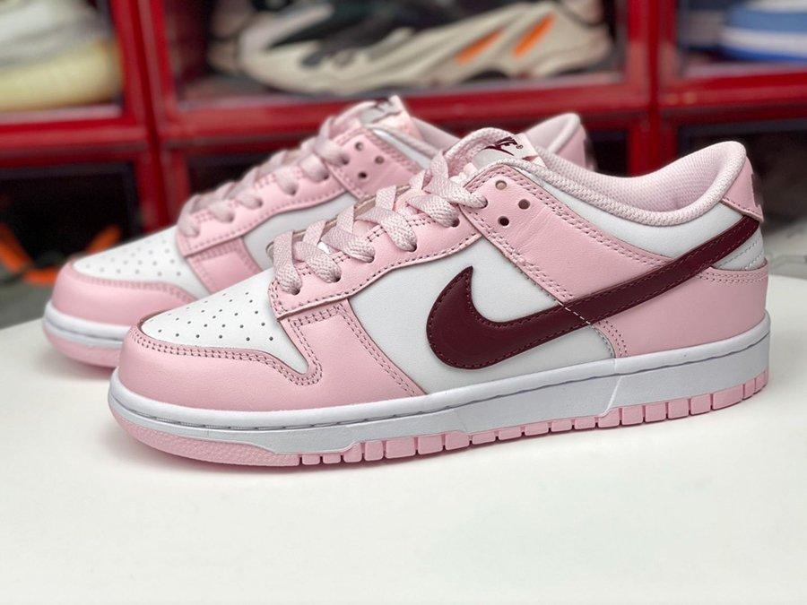 Womens Nike Dunk Low Pink Foam CW1590-601 On Sale