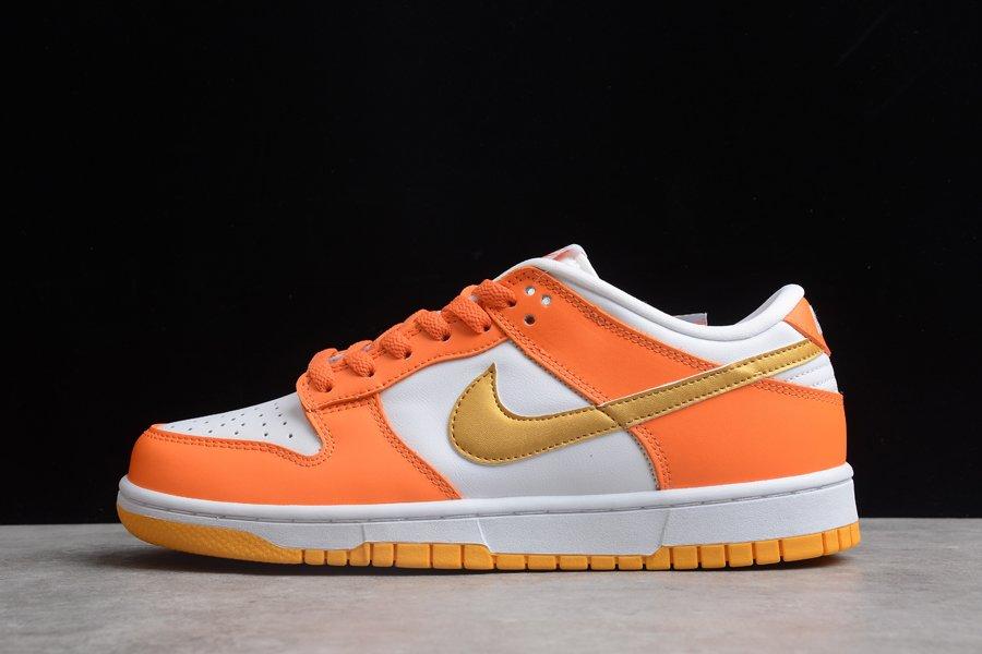 2021 Nike Dunk Low Golden Orange On Sale