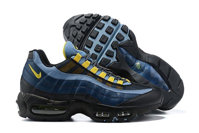 CT1805-400 Nike Air Max 95 Batman Midnight Navy Obsidian-Speed Yellow