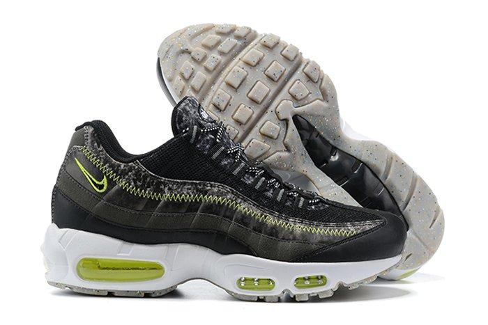 CV6899-001 Nike Air Max 95 M2Z2 Recycled Wool Pack Black Electric Green