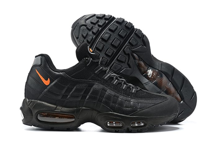 DJ6884-001 Nike Air Max 95 Black Total Orange Reflective Silver
