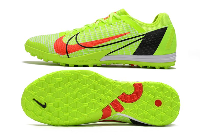 Football adulte Chaussures Nike Mercurial Vapor 14 Pro TF Motivation Volt