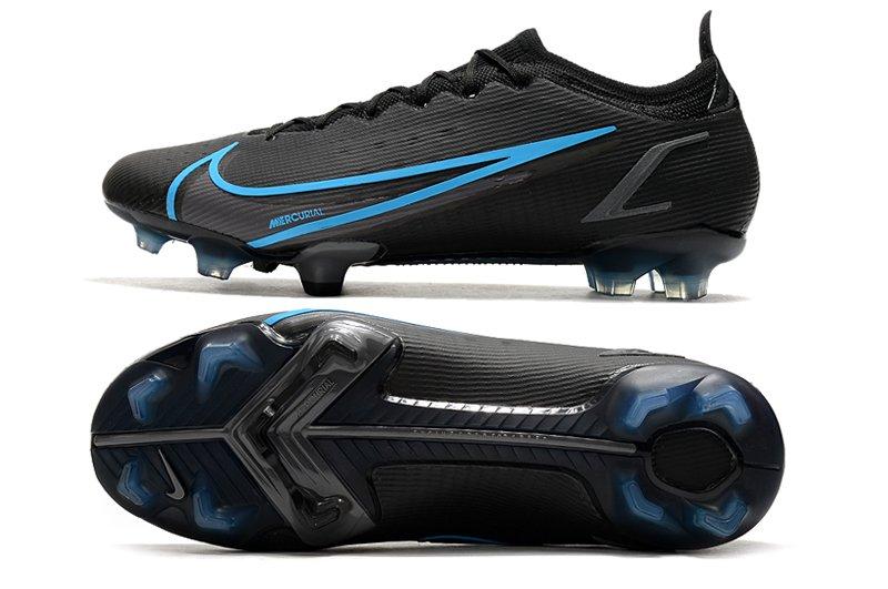 Herren Schuhe Nike Mercurial Vapor 14 Elite FG Black Blue